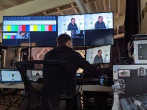 virtual studio behind the scenes