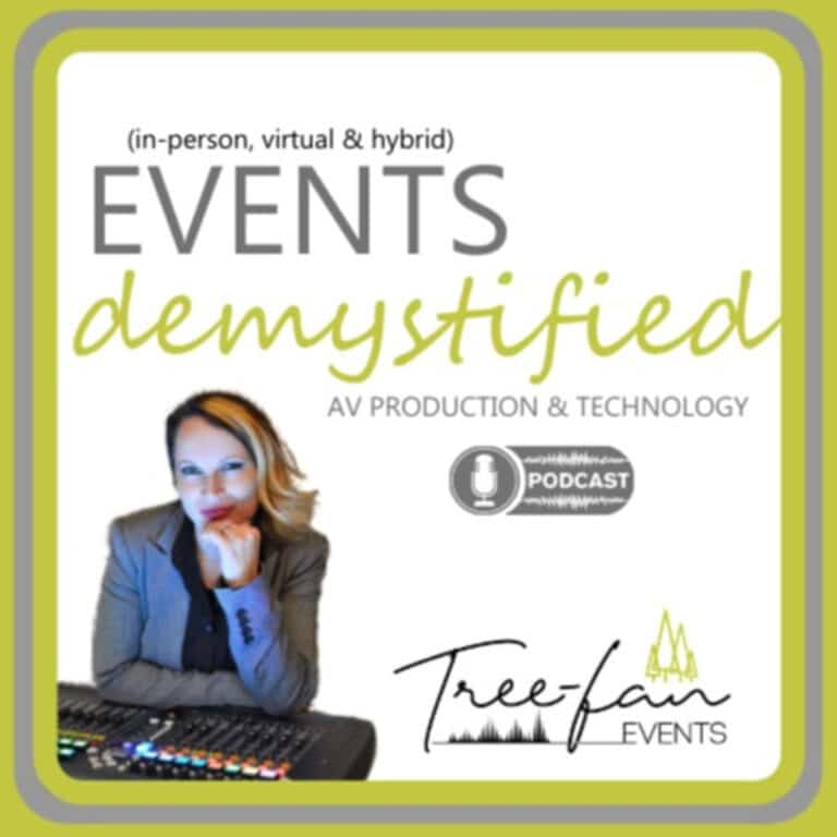 (in-person, virtual & hybrid) Events: demystified