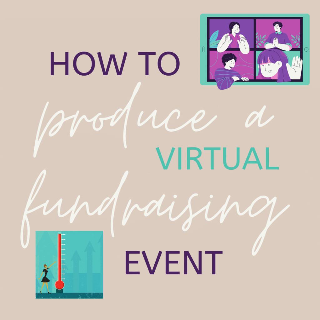 produce a fundraising