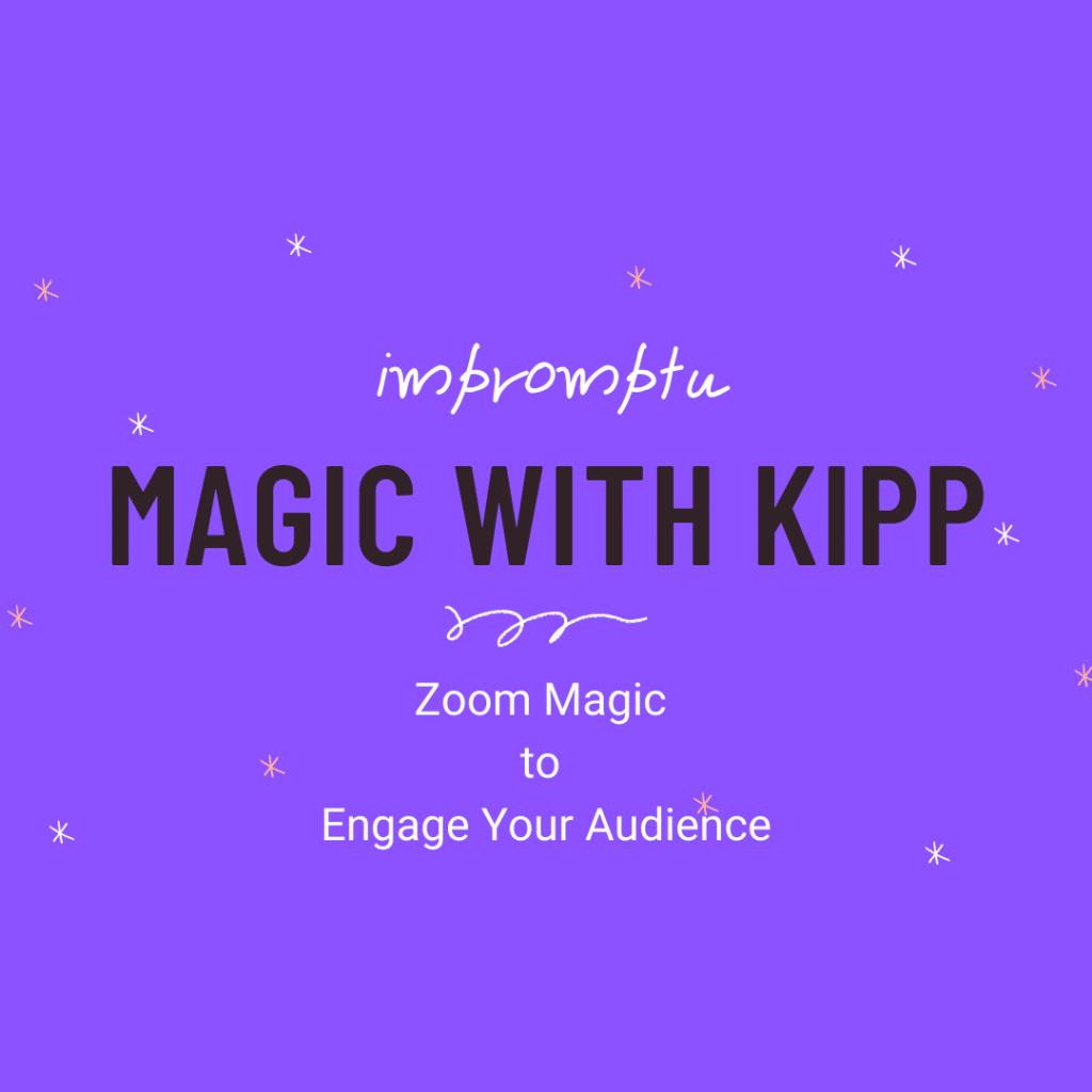 Impromptu magic with Kipp
