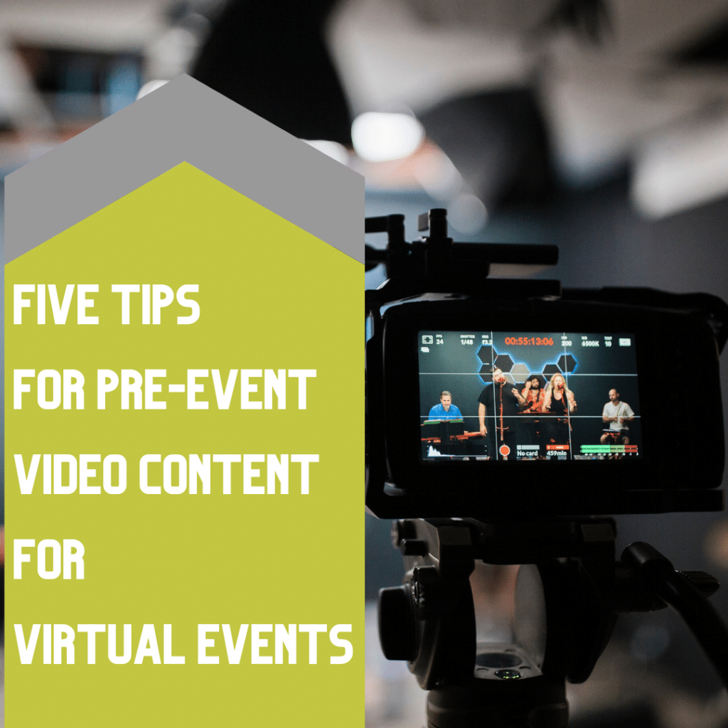 Tips for Pre Event Video Recording