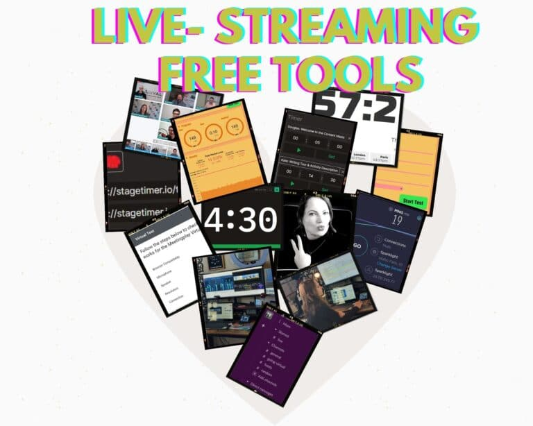 Live Streaming Tools