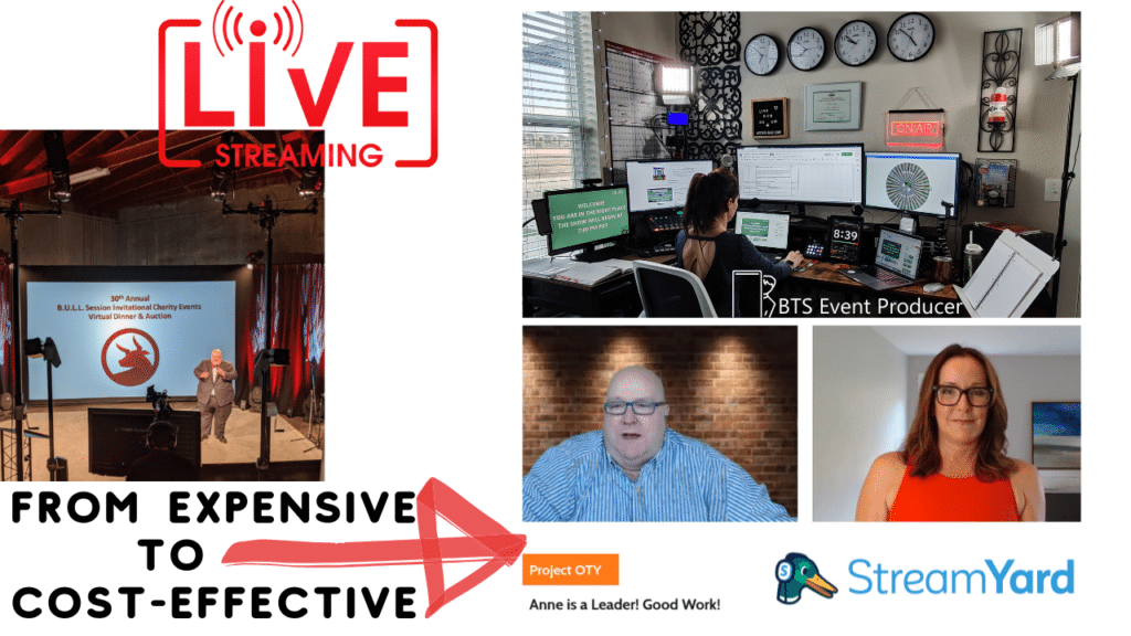 cost-effective event live-streaming services