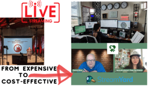 cost-effective live-streaming