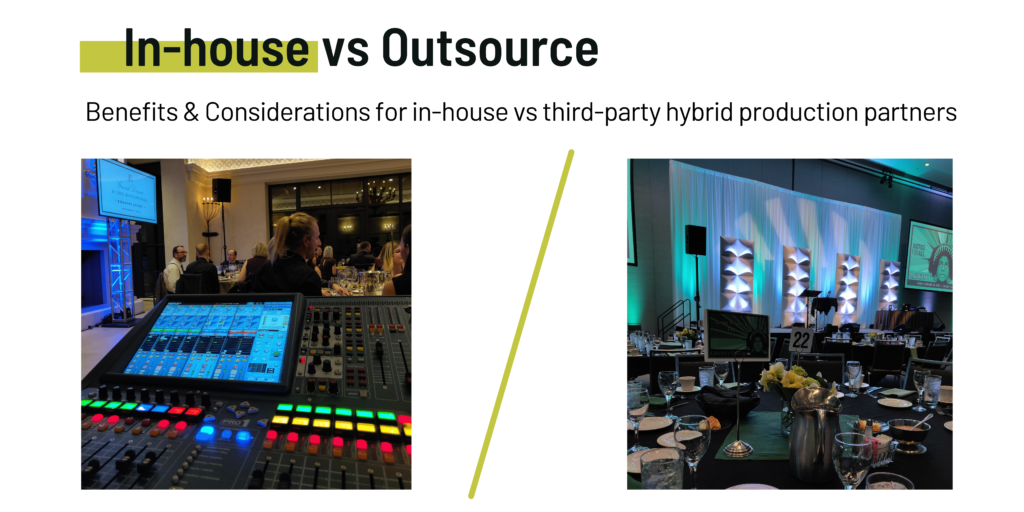 in-house providers vs outsourced